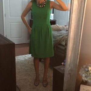 EUC (only worn once) Kelly green dress